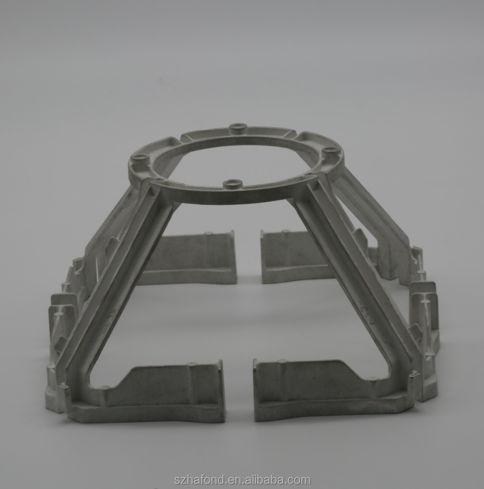 Precision OEM metal die casting parts base vibrator FOR COMMUNICATION DEVICE