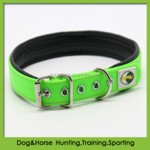 weather resistant soft PVC pet dog collar with soft padding liner supplies