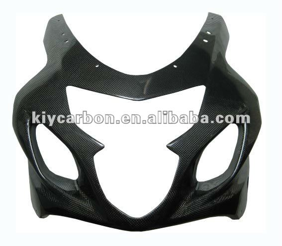 Suzuki carbon fiber upper fairing