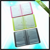Bank use glossy hard cover card holder