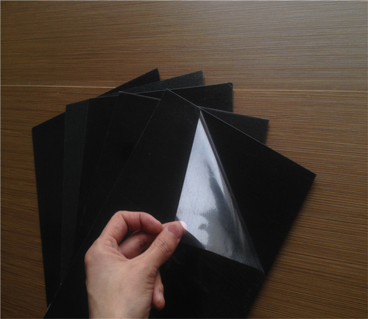 1mm PVC foam sheet black color for Photo Album