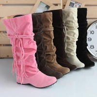 HFR-T811 Latest design long platform women boots 2014