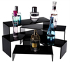 Large Acrylic Cosmetic Display Cases with LED Light