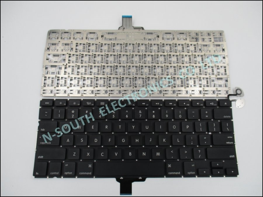 Genuine new laptop keyboard for apple macbook pro a1278 us black