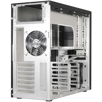 Sheet metal fabrication aluminum computer pc case shell