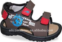 2012 hot design children sport sandal