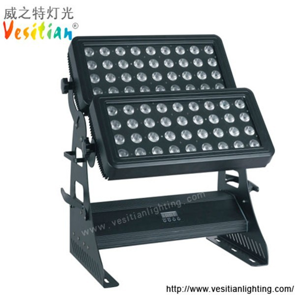 china top ten selling products led wash dimmable led spot light 72pcs 10w rgb outdoor wash light ip67 dmx led