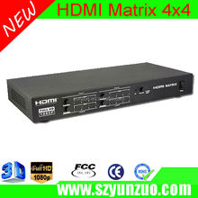 High Quality & Speed HDMI 4X4 HD Matrix