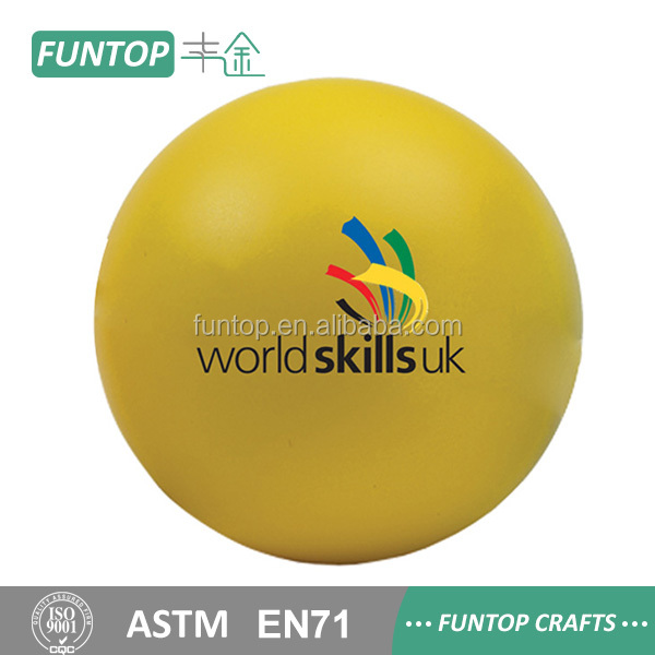 Factory Sale custom design custom stress balls no minimum manufacturer sale