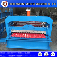 Good Price Corrugating/Trapezoidal Galvanized Roofing Panels Roll Forming Machine