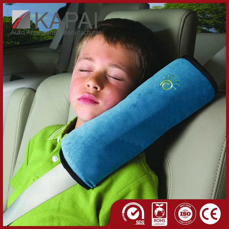 Cute Plush Car Seat Belt Cover