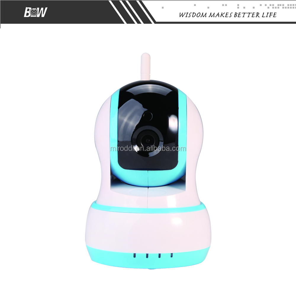 720P HD P2P Wireless 64GB Storage Wi Fi IP Camera With Pan Tilt function