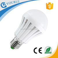 emergency led light bulb E27 7w energy saving rechargeable battery led plastic bulb 9w B22 with smd2835/5730 for night market