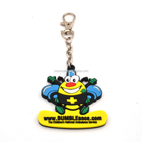Alloy Rectangle Blank key chain, Own Logo keychain PVC Keychain