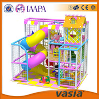 Candy theme creative colorful kids funny land indoor playground slides