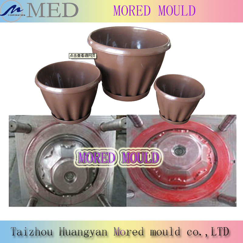 hot sale high quality competitive price injection plastic garden pot mold
