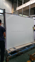 5mm 6mm 8mm tempered white painted glass for kitchen cabinets