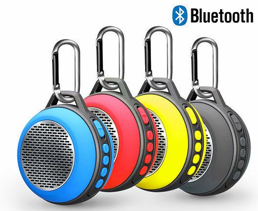 Portable Outdoor Stereo Audio Wireless USB Flash Driver Bluetooth Speaker