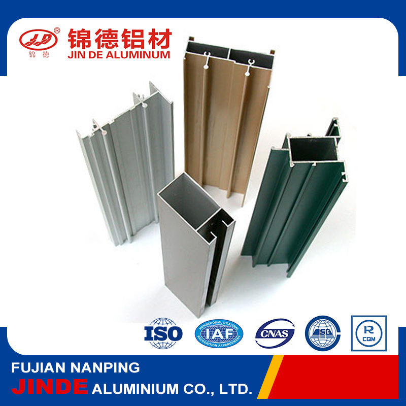 China high standard extruded aluminum for windows