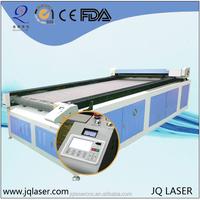 Famous brand Auto feeding system laser leather label cutting machine