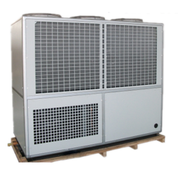 Air-cooled water chiller cooling system