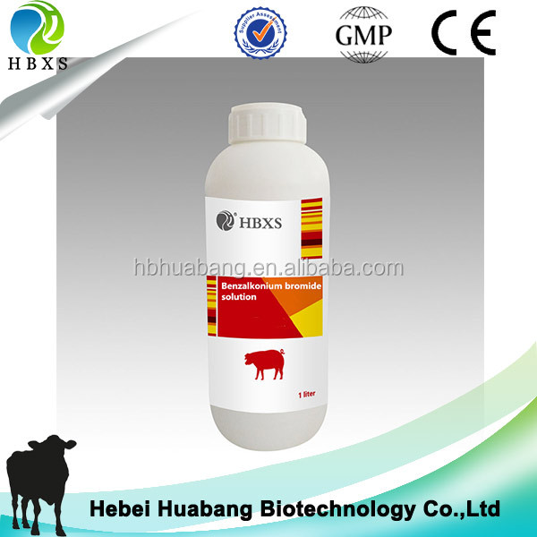poultry house disinfectant 5% Benzalkonium Bromide Solution for chicken