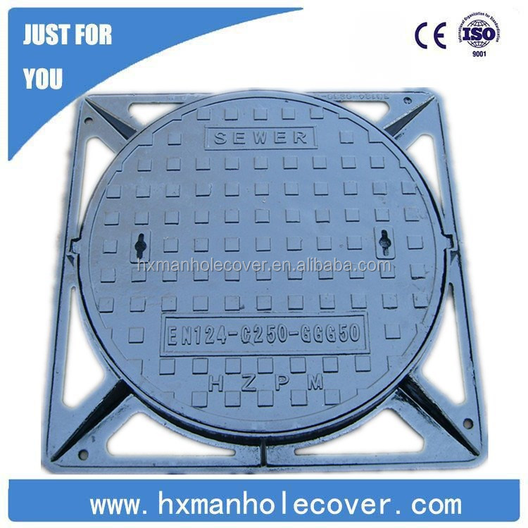 Ductile Anti Theft Manhole Cover EN124 D400