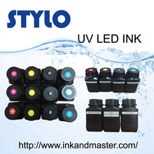 UV LED Ink for glass