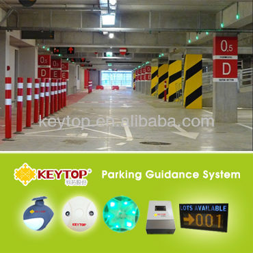 Intelligent parking garage management/ Parking Guidance System/Parking Guidance Information System For Indoor Car Park
