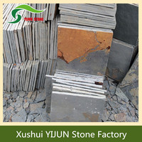 Outside Rustic Slate China Patio Slabs For Sale