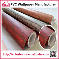 Heat Insulation printing effect home decorative wall paper