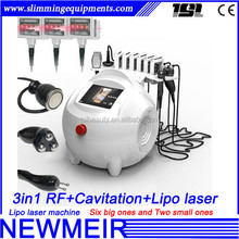 Newmeir professional laptop rf cavitation medical lipo laser machine,rf cavitation lipo laser, i lipo laser