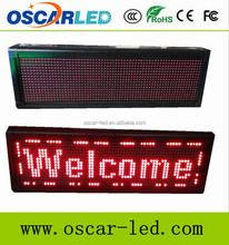 Red Tube Chip Color and Graphics Display Function wireless control led wall clock/double sided led clock