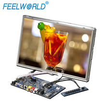 10.2 inch tft led skd monitor resisititive touch vga hdmi multipal input lcd controller board kit with Remote Controller
