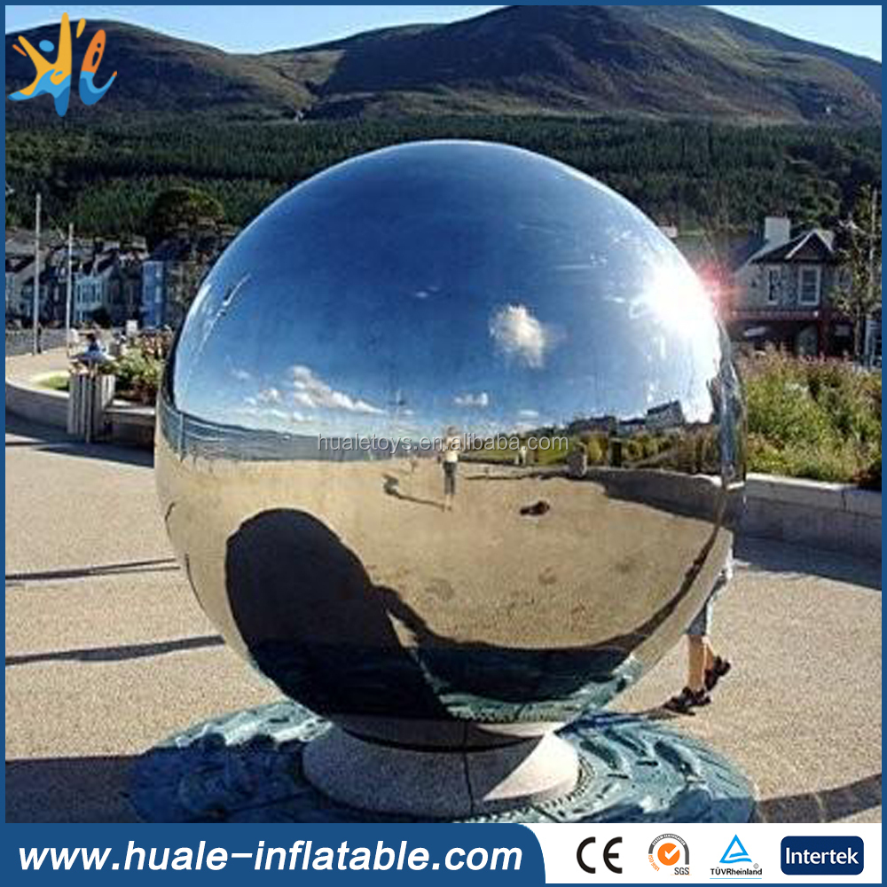 Cheap advertising and decoration inflatable mirror ball