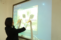 Newest launched high stability interactive whiteboard wireless easy operation interactive plane/display,10 points