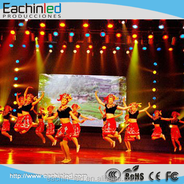 P3 Indoor digital display screens for Stage Decoration Backdrop