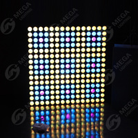 5x5 10W 3in1 rgb led dmx audience blinder light for stage decoration