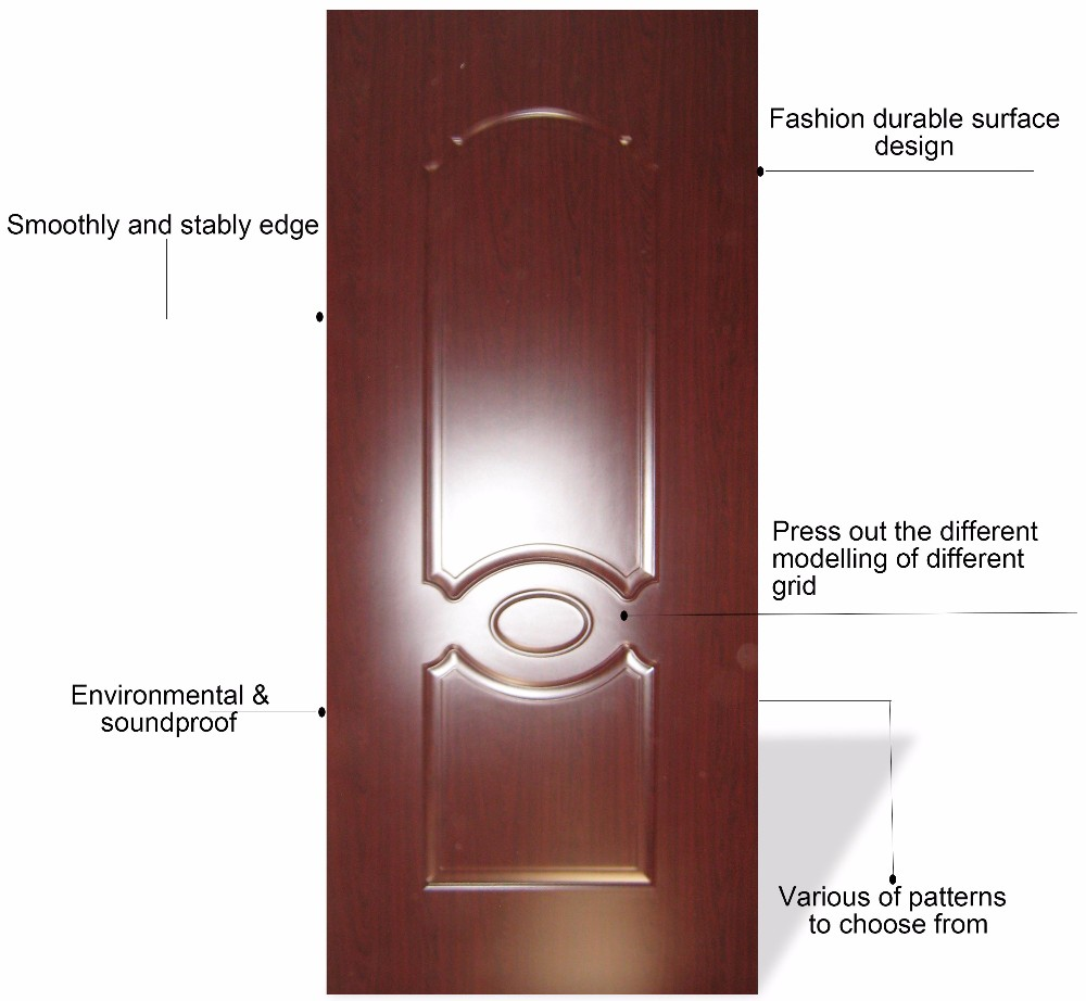 Trade Assurance fashion design bedroom melamine door skin price