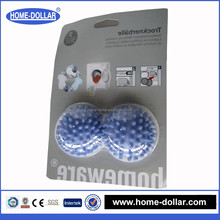 no chemicals soften magic re-usable & eco friendly 2pcs washing balls laundry balls dryer balls