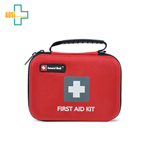 Auto emergency medical first aid survival kit bag first aid case