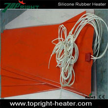 Orange silicone heat-resistant kitchen mats