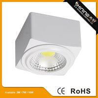 Latest style recessed mini 3w cob downlight led