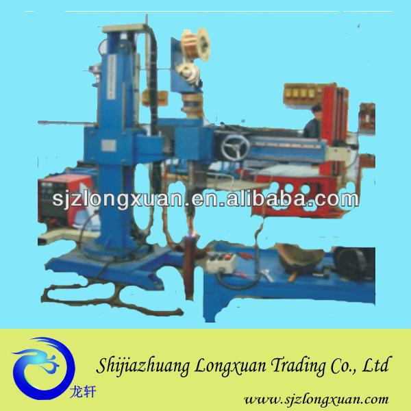 Circle seam surfacing machine