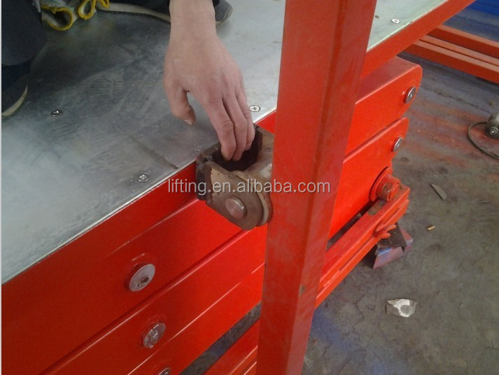 CE 6m scissor lift table mechanism