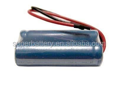 Wholesales price 7.4V 14500 2S1P 750mAh Lithium ion battery packs with Protection PCB