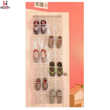 2017 Hot sale foldable custom fabric wall hanging pocket shoe organizer