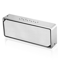 Metal Mini Portable Wireless Bluetooth 4.0 Speaker Stereo Subwoofer Speaker Support TF Card With Mic for Mobile Tablet