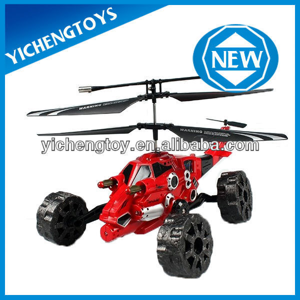 rc flying car missile launcher rc helicopter toys for kids 777-326