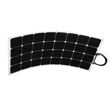 New design machine grade 100w Mini Flexible Solar Panel for iron pipe welding